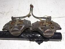 Nissan skyline r34 gtt rear 2 pot brake calipers left + right rear