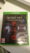 XBOX ONE GAME RESIDENT EVIL Origins Collection resi evil 1 and resi evil 0