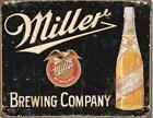 Metal Sign Miller Brewing Company Tin Sign