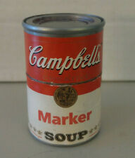 """Campbell's Soup magic marker Advertising Soup Can 2.5"""""""