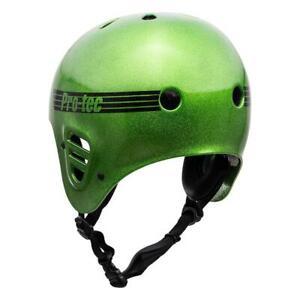 Pro-Tec Full Cut Certified Helmet, Green Candy Flake