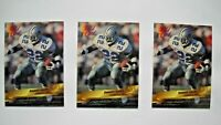1993 Wild Card Emmitt Smith Promo Card Lot (3 Cards) Prototype Preview