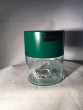 .29 Liter Tightvac Airtight Smell Proof Vacuum Sealed Container green Clear