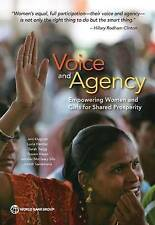 NEW Voice and Agency: Empowering Women and Girls for Shared Prosperity