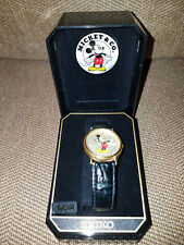 Seiko Mens Mickey Mouse Watch