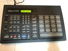 Roland R-70 Rhythm Composer Drum Machine Battery Low w/ Adapter Manual Good FS
