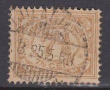 Nederlands Indie Netherlands Indies 113 TOP CANCEL TJILATJAP  Cijfer 1912