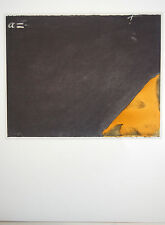 ANTONI TAPIES -  Litografia original papel arches. Firmada en plancha. 1000 eje