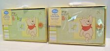 """Two Disney'S Winnie The Pooh """"My Sweet Baby"""" First Photo Album Holds 40 - 4""""X 6"""""""