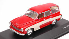 Wartburg 312 Camping 1960 Red / Cream 1 43 Model Wb264 WhiteBox