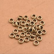 Tibetan Silver/Gold/Bronze Rings Spacer Beads Jewelry Findings 3142