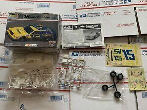 Monogram 1982 Dale Earnhardt Wrangler Ford Thunderbird 1/24 Model Kit - Opened
