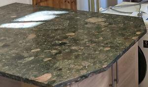 Stunning Kitchen Granite Worktops (Verde Marinace) - various sizes