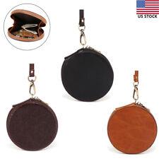 Fashion Round Wallet Fashion Circle Wristlet Purse Mini Clutch Bag Coin Holder