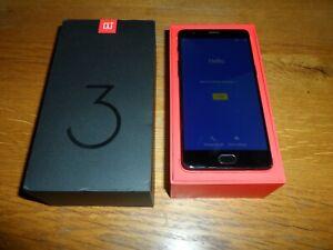 OnePlus 3T Boxed - Unlocked - 6GB RAM - 128GB - Black - GOOD CONDITION