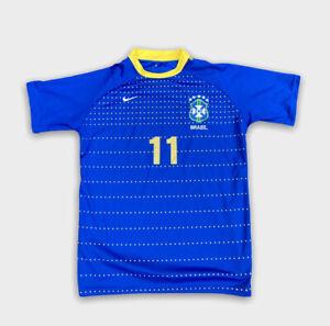 Nike Brazil Football Shirt. No 9 Robinho. Extra Small