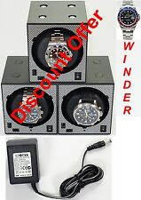 Boxy Brand Brick Automatic Watch Winder System for Three Watches - (3B)