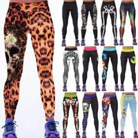 Leggings Yoga Fitness Leggins Jogging Trainingshose Sporthose Hosen Damen Pants