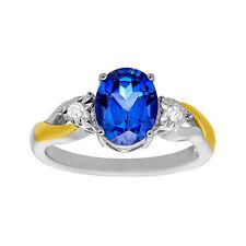 Markenlose Ringe mit Saphir Edelsteine