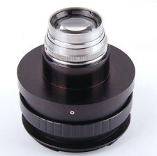 Ex+ Bausch & Lomb Tessar IC 139mm F/4.5 Cine lens Pentax 6x7 Mount cover 135mm