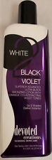 Devoted Creations White 2 Black Violet Ultra Black Bronzer Tanning Lotion
