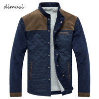 DIMUSI Men Bomber Jacket Mens Spring Autumn Windbreaker Coats Casual Corduroy Ja