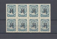 COLOMBIA CONSULAR BLOCK X 8 MNH