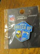 Detroit Lions VS Minnesota Vikings Game Day Pin October 20, 2019 Ford Field