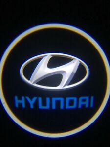 Hyundai Logo Wireless LED Courtesy Car Door Ghost Shadow Projector Light