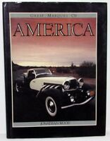 Great Marques Of America Automobile Historical Hardback Book Cadillac Chevy Ford