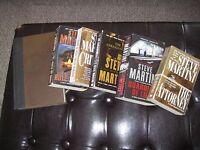 6 Steve Martini classics: Critical Mass, The Attorney, Trader of Secrets, PLUS 3