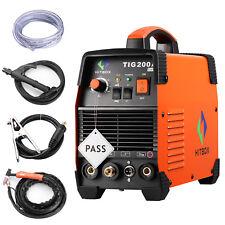HITBOX TIG 200AMP Welder High Frequency TIG ARC IGBT Welding Machine