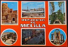 ANTIGUA POSTAL RECUERDO DE MELILLA POSTCARD POSTKARTE                    CC04055