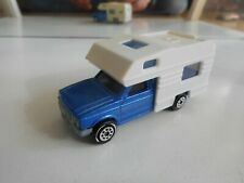 Majorette Camping Car in Blue/White
