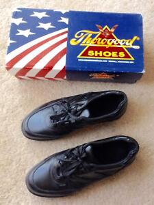 THOROGOOD CODE 3 ENFORCER OXFORD Shoes Men Sz 9.5 XW (EXTRA Wide)