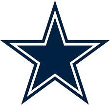 Sticker -(small) - NFL Dallas Cowboys