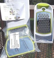 Native Spring 3 in 1 Ergonomic Grater and Container Cheese and Vegetable Slicer