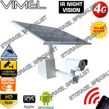 Construction Camera 4G GSM Solar Wireless Security Farm DIY House Night Vision