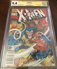 X-Men #4 Newsstand Cgc 9.4: First Appearance Of Omega Red Signed By Jim Lee