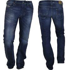 Diesel Jeans Larkee gerade Herren Hose dunkelblau hellblau grau Regular neu