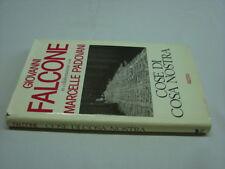 (Giovanni Falcone) Cose di cosa nostra 1992 Rizzoli .