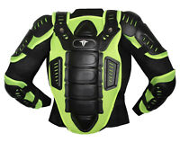 MOTORCYCLE FULL BODY ARMOR RACING MOTOCROSS JACKET SPINE CHEST PROTECTOR