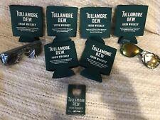 Tullamore Dew Koozies,2 sunglasses And  Bottle Opener 9 Piece Set