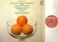 9500 903 MARRINER/LSO prokofiev love of three oranges/lieutenant kije LP EX/EX