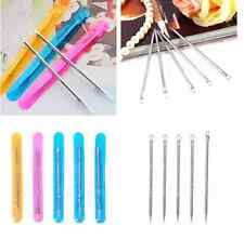 5pc Blackhead Removal Comedone Acne Pimple Pore Blemish Extractor Needle Tool LJ