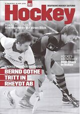 Deutsche Hockey Zeitung Heft 1 2013 vom 10. Januar 2013