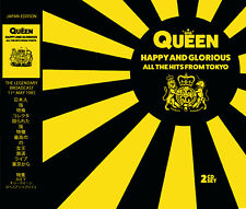 QUEEN - HAPPY AND GLORIOUS: ALL THE HITS FROM TOKYO: NEW DOUBLE CD SET
