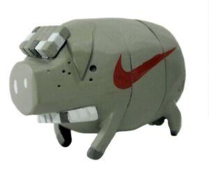 Michael Lau x NIKE THE PIG  Crazychildren Grey Brand New