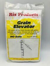 Rix Products 628-407 HO Building Kit - 90 ft Grain Elevator
