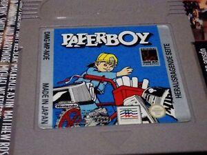 Paperboy  Nintendo Gameboy Color Advance Game, Genuine! Dmg-mp-noe cart only